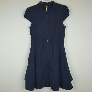 Anthropologie | Maeve Blue Dress Size 6p